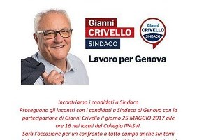 Gianni Crivello incontra l\